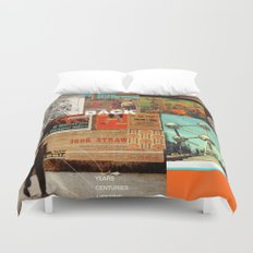 Welcome Back Duvet Cover