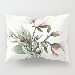 Magnolia and Olives Pillow Sham