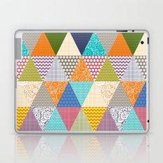 seaview beauty triangles Laptop & iPad Skin