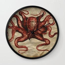 ä Octopus  Wall Clock
