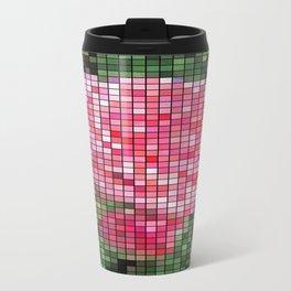Pink Roses in Anzures 2 Mosaic Travel Mug