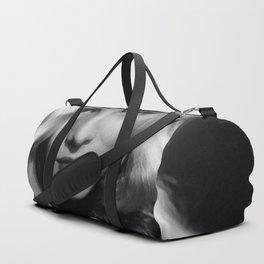 Veronica Lake Black and White Photographic Portrait Duffle Bag