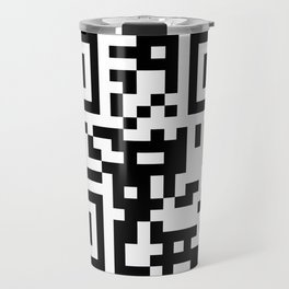 REAL GEEK QR Travel Mug