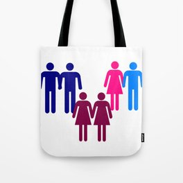 LGBT Couples Tote Bag