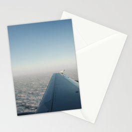 Wing in the clouds Stationery Cards