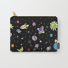 Superhero Space Carry-All Pouch