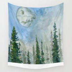 The Endor Morning Sky Wall Tapestry
