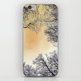 Infrared Forest iPhone Skin