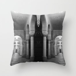 Corridors of confusion Throw Pillow