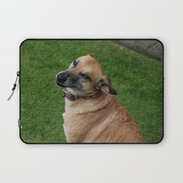 cheeky grin - Spooks Laptop Sleeve