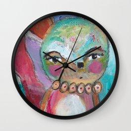 Little Foxy Wall Clock