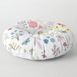 Bluebird Floor Pillow