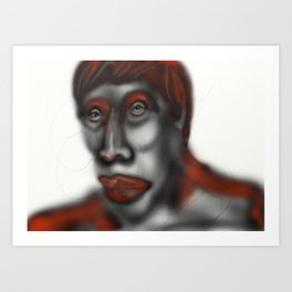 Red key Art Print