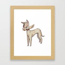 Likarus the Great Dane Framed Art Print