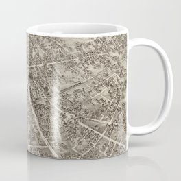 Vintage Pictorial Map of Malden Massachusetts (1881) Coffee Mug