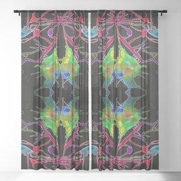 一 (Yī) Sheer Curtain