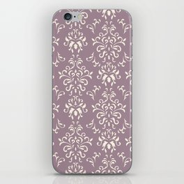 Decorative Pattern in Light Magenta and Cream iPhone Skin