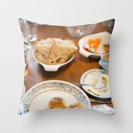 morning Throw Pillow
