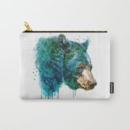 Bear Head Carry-All Pouch