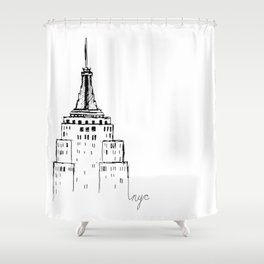 Empire State Shower Curtain