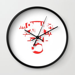 """A Social Tee For Computer Addicts Saying """"I'm Only Here Because The Server Is Down"""" T-shirt Design Wall Clock"""