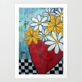 Build me up buttercup Art Print
