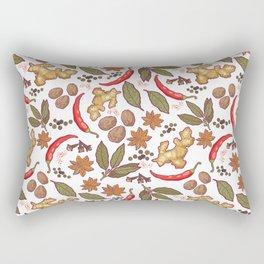 Spices pattern. Rectangular Pillow