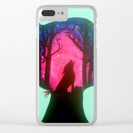 Wild Within Clear iPhone Case