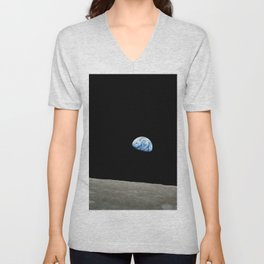 Earthrise Unisex V-Neck