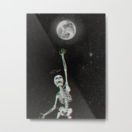 Everyone is a Moon Metal Print