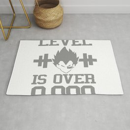 My Power Lever Is Over 9000 Rug