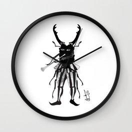 BLACK JOKER OF HAMELIN Wall Clock