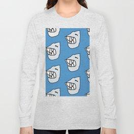 Sharksea by Si Long Sleeve T-shirt