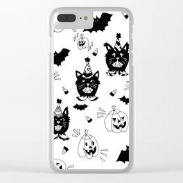 Halloween Jubilee Clear iPhone Case