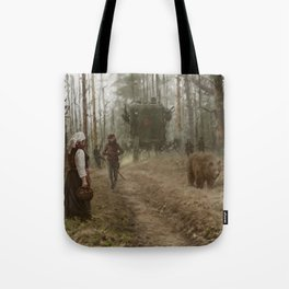 Storytelling Tote Bags | Society6