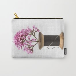 Wooden Vase Carry-All Pouch