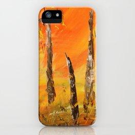 in fire iPhone Case