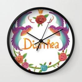Diarrhea Wall Clock