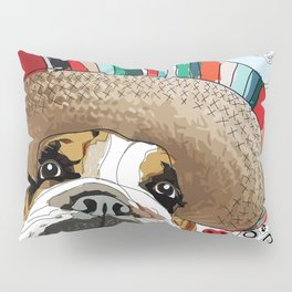 Cinco de Bulldog Pillow Sham