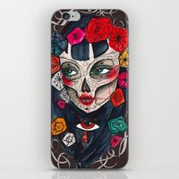 mexican iPhone & iPod Skins featuring Mexican SK by LucreziaU's Illustration