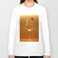 blush Long Sleeve T-shirts featuring blush by gzm_guvenc