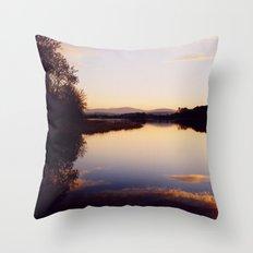 Irish Lake Throw Pillow