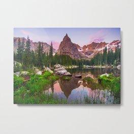 Lone Eagle Peak Metal Print