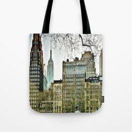 The view from Bryant Park Tote Bag