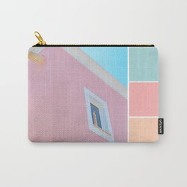 Bright And Happy On The Side Pastels Carry-All Pouch