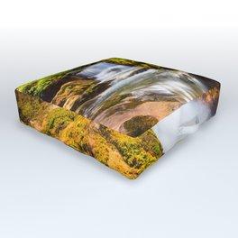Swiss rapids. Outdoor Floor Cushion