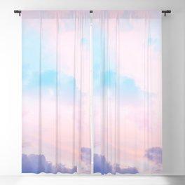 Unicorn Pastel Clouds #5 #decor #art #society6 Blackout Curtain