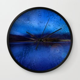 Concept Bavaria : Lake Schliersee Wall Clock