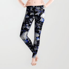 Fractal Lily Vase - BWB Leggings