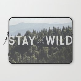 Stay Wild - Mountain Pines Laptop Sleeve
